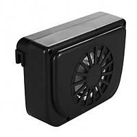 Автомобильный охлаждающий вентилятор Auto Cool Fan на солнечной батарее, охлаждающий авто машину 1000302-Black-0