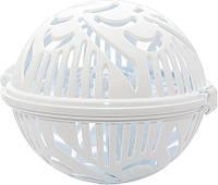 Контейнер для стирки бюстгальтеров Flexy Bra Washer, цвет - белый (1002402-White-0)