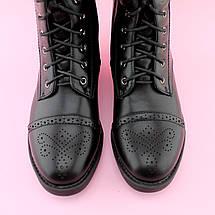 Детские черные демисезонные высокие ботинки девочке тм BIKI размер 37, фото 3
