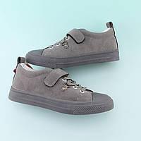 Детские демисезонные кроссовки Серые тм JG размер 31,32,34