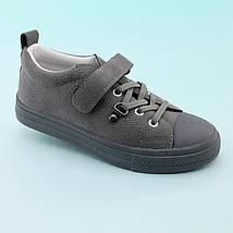 Детские демисезонные кроссовки Серые тм JG размер 31,34, фото 3