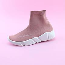 Кроссовки чулки типу баленсиага PINK размер 39, фото 3