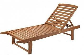 Пляжний Шезлонг дерев'яний