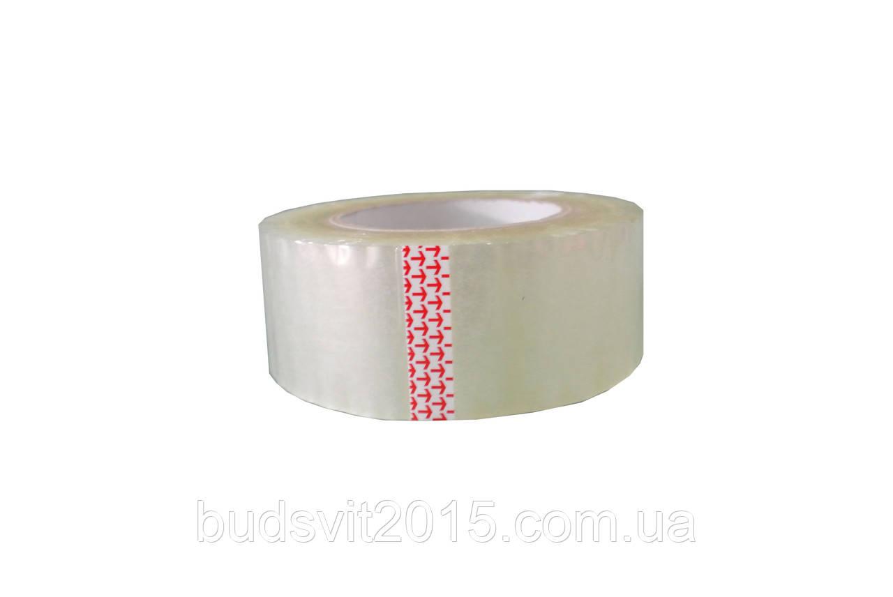Скотч клейкая лента прозрачная 48ммх300 М