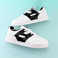 Детские кроссовки слипоны Белые размер 31,34