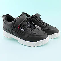 Детские черные кроссовки на танкетке размер 30,31,32,33,34,35   , фото 2