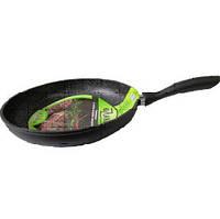 """Сковорода  с АП/мраморным покрытием  """"Hozland cook""""  d=22см/HL-FG-4222/"""