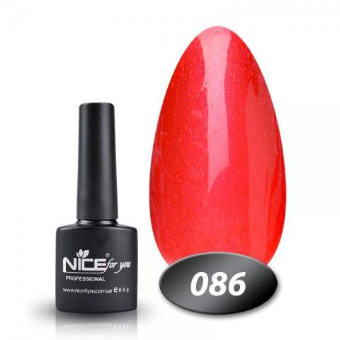 Гель лак Nice for you 8.5ml, №86