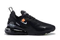 Кроссовки Nike Air Max 270 Off-White Черные