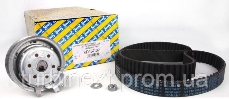 Комплект ГРМ SNR KD457.32 VW Caddy 1.6E/2.0E/VW T5 2.0E