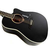 Акустическая гитара Equites EQ900C BK 41