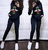 Женский спортивный костюм Гуччи с пайетками, фото 2
