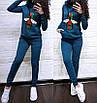 Женский спортивный костюм Гуччи с пайетками, фото 4