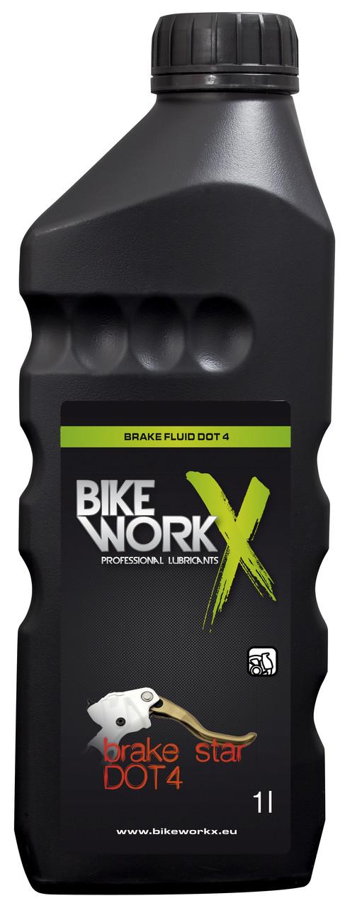 Тормозная жидкость BikeWorkX Brake Star DOT 4 (1л)