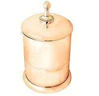 Ведро для мусора 5литров CAMEYA золото   G1409