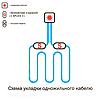 Одножильный нагревательный кабель Nexans TXLP/1R (45,7 м) 1280/28, фото 3
