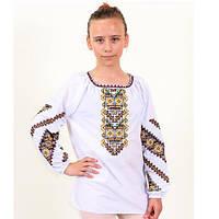 Модная блуза вышиванка на девочку