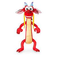 "Плюшевая игрушка Дракон Мушу м-ф Мулан Mushu Dragon Red Plush Stuffed Animal Disney Store Mulan Pet 15"""