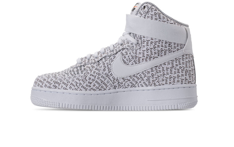 06f3a1cf Мужские кроссовки Nike Air Force 1 High Joins The Upcoming Just Do It  Collection White -