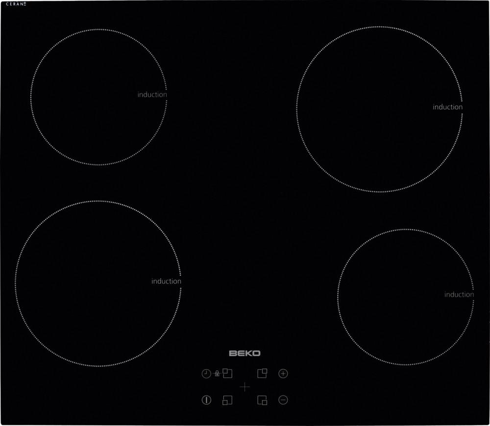 Индукционная варочная поверхность Beko HII 64401 AT