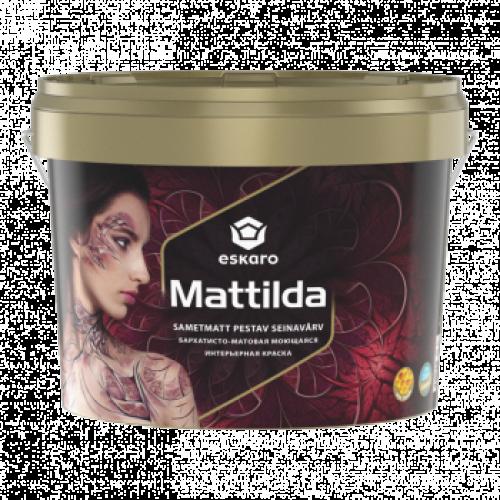 ESKARO Mattilda 9,5 л глубокоматовая фарба, що миється, з воском для стін Эскаро Маттильда