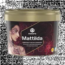 ESKARO Mattilda 9,5л глубокоматовая моющаяся краска с воском для стен Эскаро Маттильда