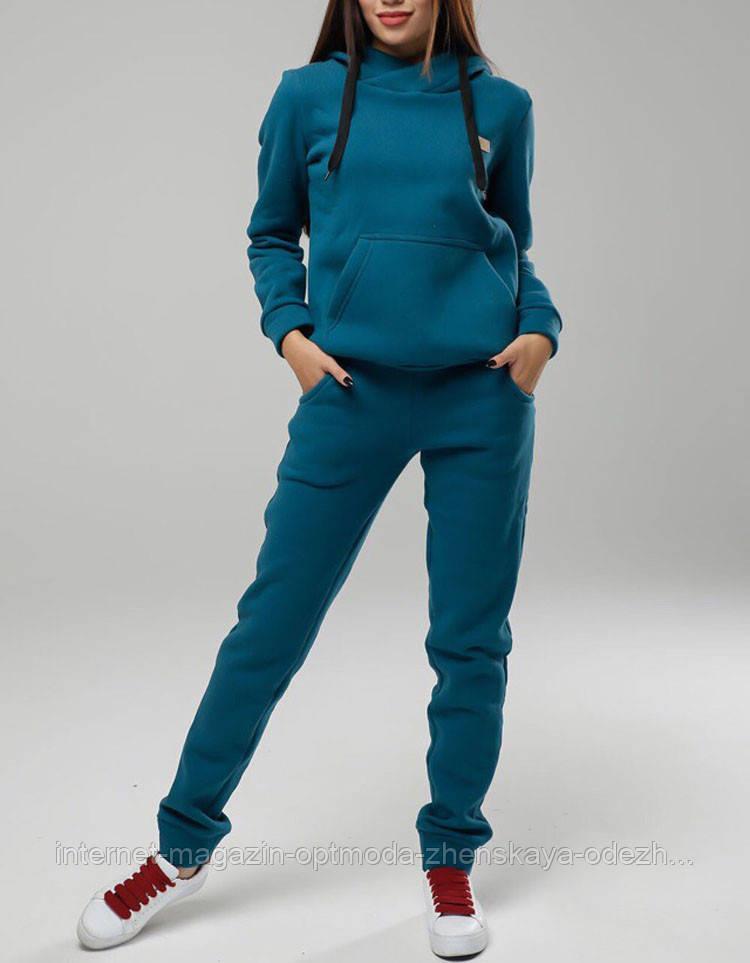 Теплый спортивный костюм женский