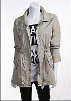 Молодежная весенняя куртка-парка женская