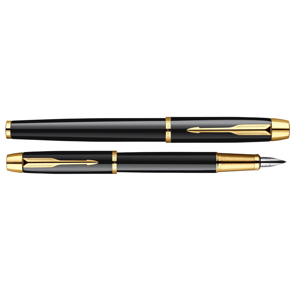 Набор Авторучка Parker IM черная GT+ Черная ручка GT Parker IM