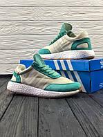 Кроссовки Adidas INIKI Runner Mint with creamy Мятный с кремовым