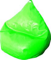 Кресло груша Фреш экокожа Салат, фото 1