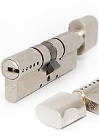 Цилиндр Mul-t-lock Interactive+ 82 мм 55x27 ключ/тумблер никель сатин
