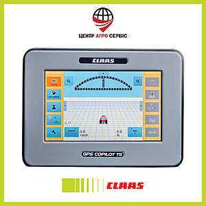 Система паралельного водіння CLAAS gps copilot TS