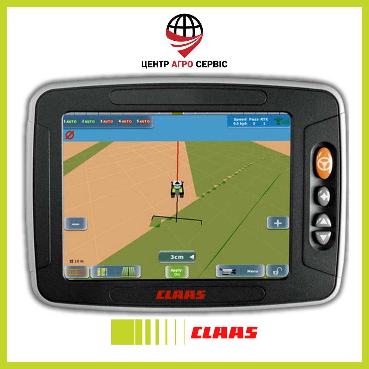 Система паралельного водіння CLAAS gps copilot s10