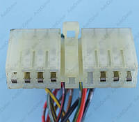 Разъем электрический 17-и контактный (50-12) б/у
