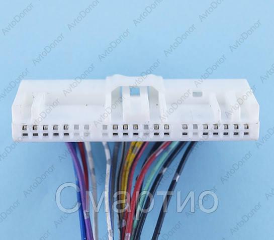Разъем электрический 21-о контактный (60-9) б/у