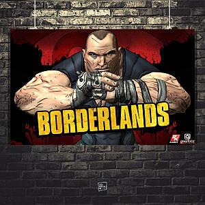 Постер Borderlands, Пограничье, BL2. Размер 60x38см (A2). Глянцевая бумага