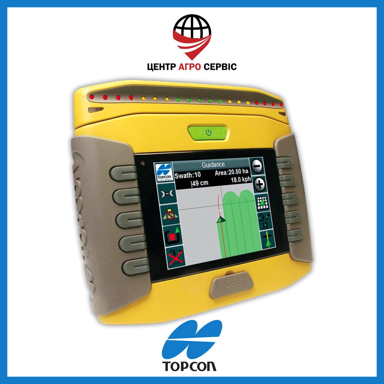 Gps навигатор для трактора (навигатор для поля, сельхоз навигатор)  Топкон 110