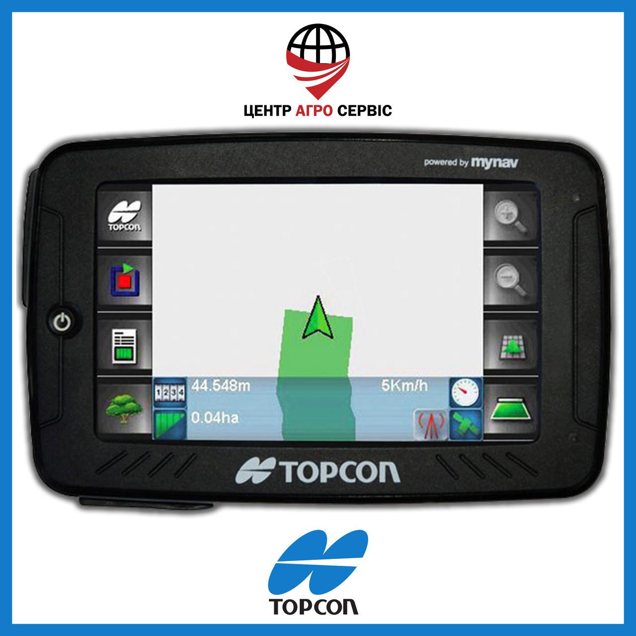 Gps навигатор для трактора (навигатор для поля, сельхоз навигатор)  Топкон 5