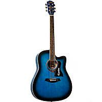 Акустическая гитара Equites EQ901C BL 41