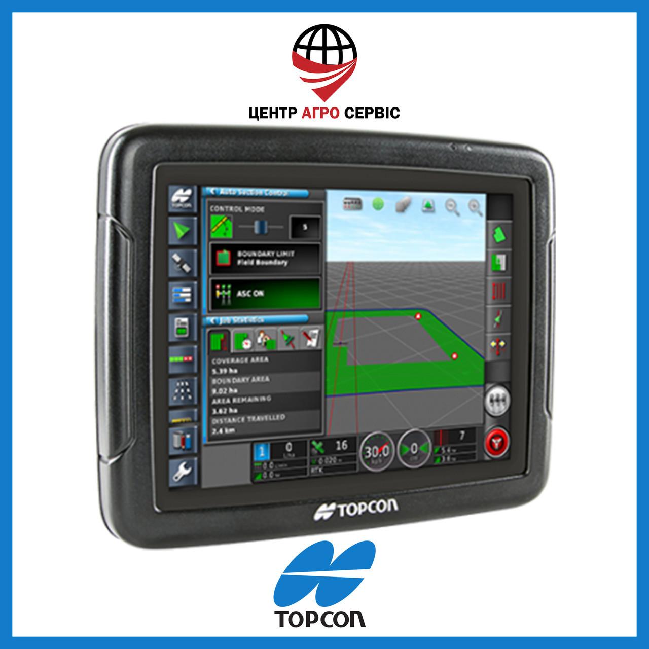 Gps навигатор для трактора (навигатор для поля, сельхоз навигатор)  Топкон 25