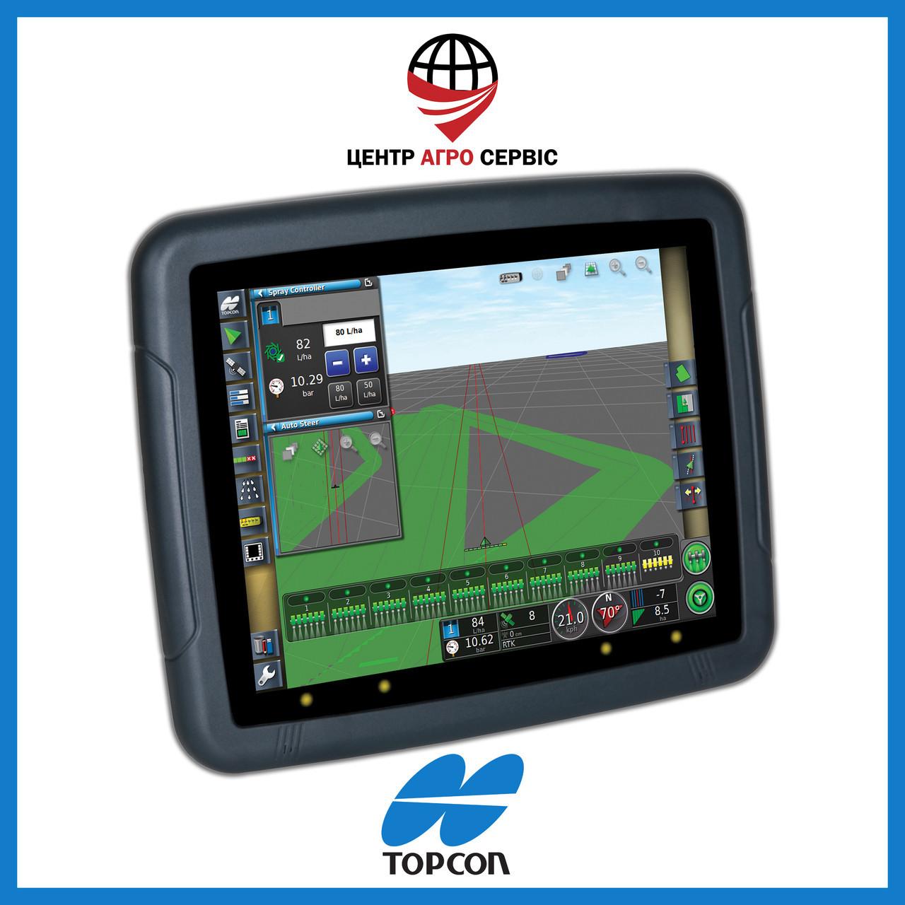 Gps навигатор для трактора (навигатор для поля, сельхоз навигатор)  Топкон 30