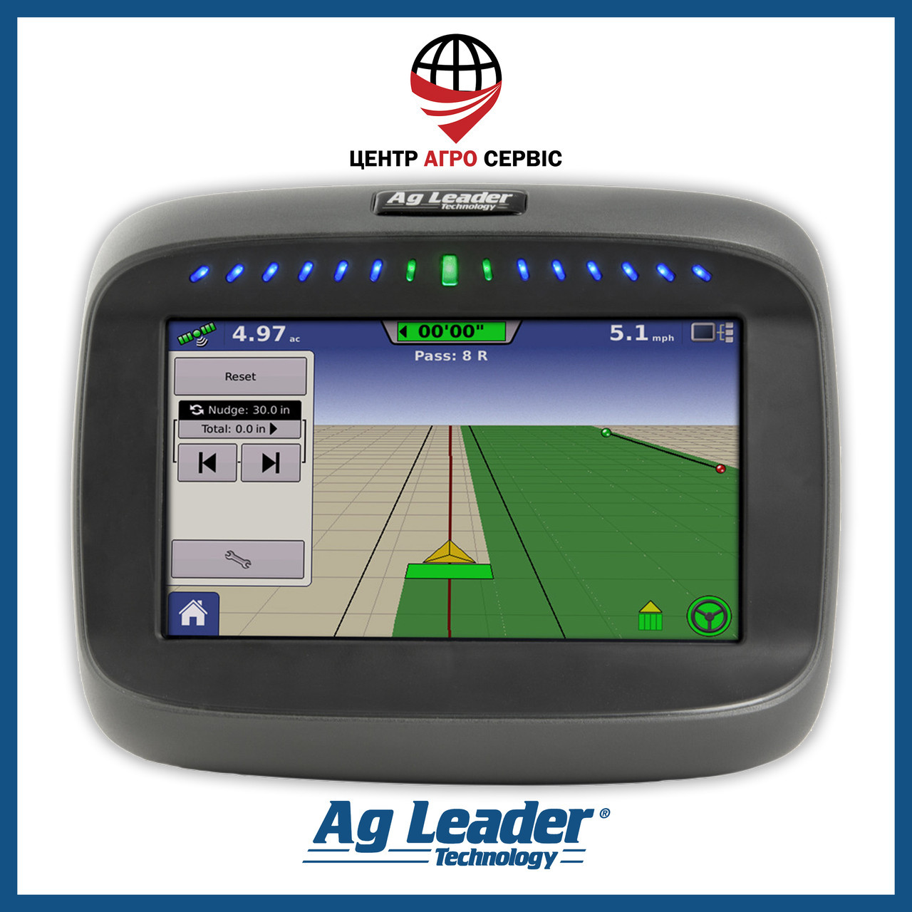 Gps навигатор для трактора (навигатор для поля, сельхоз навигатор)  Ag Leader Compass