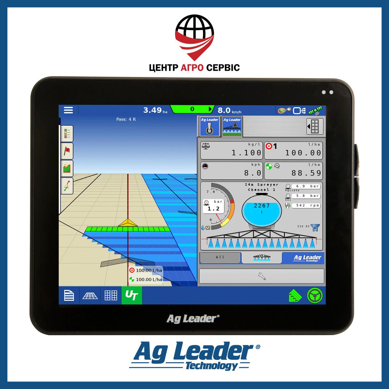 Gps навигатор для трактора (навигатор для поля, сельхоз навигатор)  Аг Лидер 1200