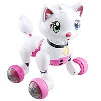 Інтерактивна іграшка FXD Cindy робот-кіт на р/к Біло-Рожевий (SUN3379), фото 1