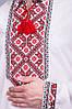 Вышиванка Матвей лён красный, фото 3