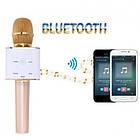 Беспроводной микрофон-караоке bluetooth Q7, фото 4