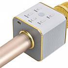 Беспроводной микрофон-караоке bluetooth Q7, фото 5