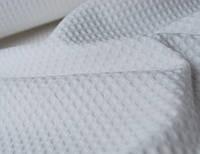 Ткань полотенечная вафельная отбеленная. 50см