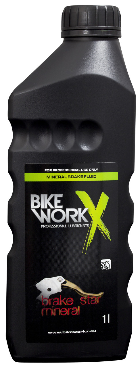 Тормозная жидкость (минеральное масло) BikeWorkX Brake Star Mineral Oil (1л)